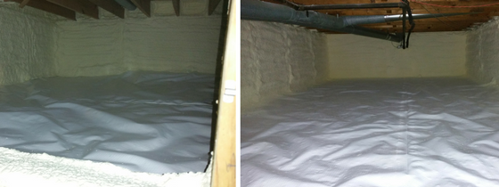 Greene Solutions crawl space services