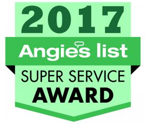 Greene Solutions is the 2017 Angie's List Super Service Award Winner!