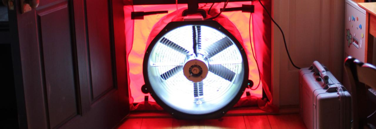 Greene Solutions, Blower door test, OH