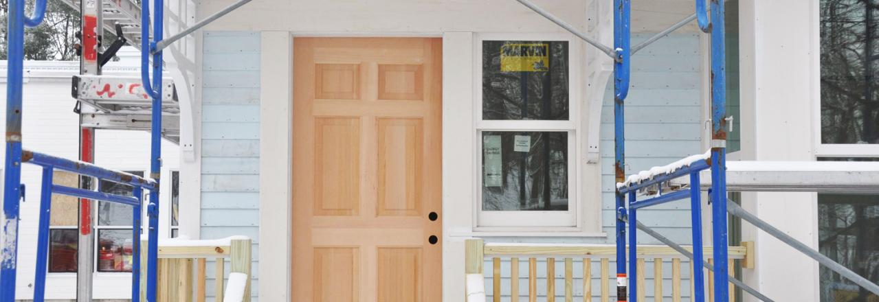 Greene Solutions, New door in home construction, OH