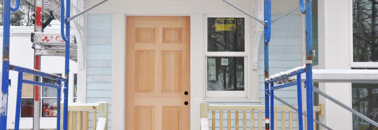Greene Solutions, New door in home construction, OH
