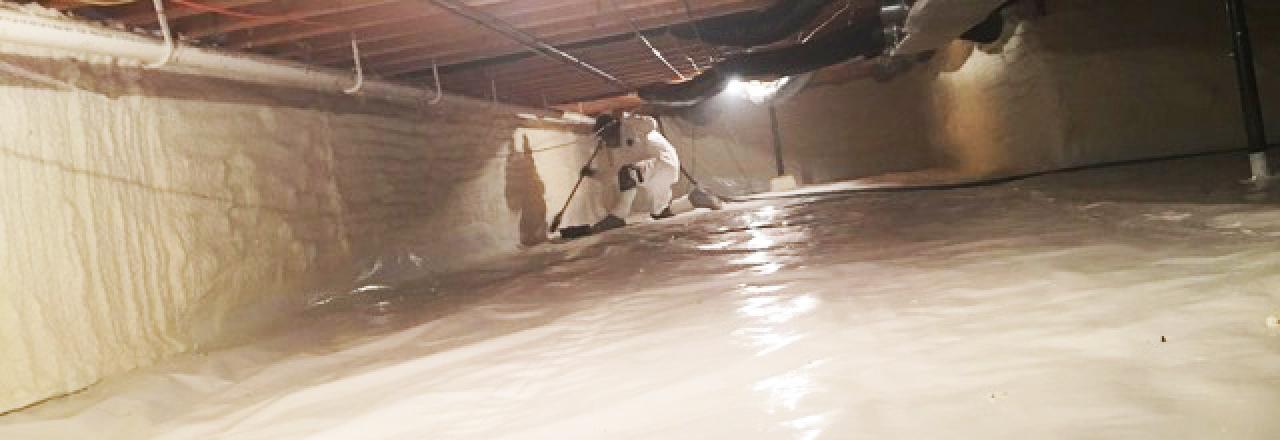 Greene Solutions, Crawl space sealing and insulation, OH