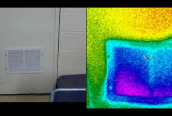 Thermal Imaging Crawl Space