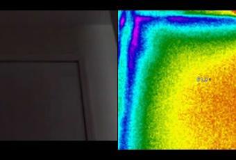 Thermal Imaging Garage Door