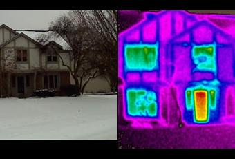 Thermal Imaging Home Energy