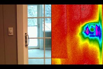 Thermal Imaging of Light Switch