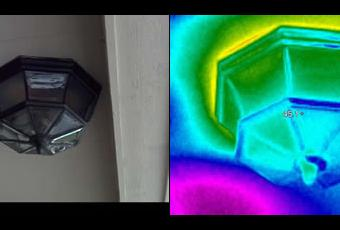 Thermal Imaging Porch Light