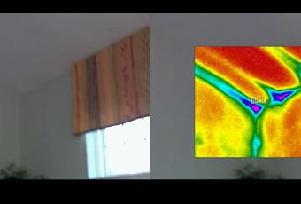 Thermal Imaging Roof Line
