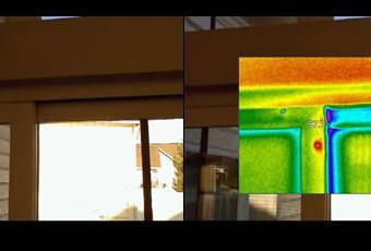 Thermal Imaging Sliding Door