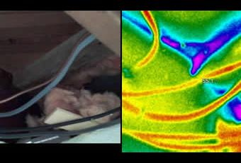 Thermal Imaging Wire Penetration