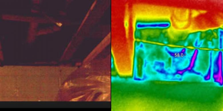 Thermal Imaging of Rim Joist